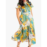 Yumi Curves Tassel Print Maxi Dress, Multi