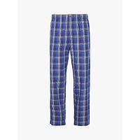 Calvin Klein Check Cotton Lounge Pants, Blue