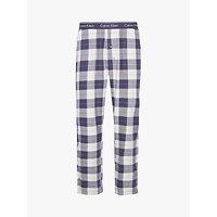 Calvin Klein Check Lounge Pants, Navy