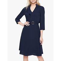 Damsel in a Dress Cindie Belted Dress, Navy