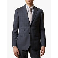 shop for Ted Baker River Wool Check Suit Jacket, Navy at Shopo