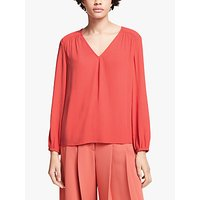shop for John Lewis & Partners Stitch Detail Top at Shopo
