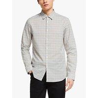 shop for Kin Traditional Check Shirt, Natural at Shopo