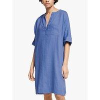 John Lewis and Partners Dolman Sleeve Linen Dress