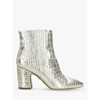 shop for Sam Edelman Hilty Metallic Leather Ankle Boots at Shopo