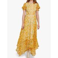 Ghost Fleur Dress, Yellow