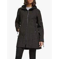 shop for Ilse Jacobsen Hornbæk 3/4 Length Raincoat, Black at Shopo