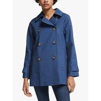 shop for John Lewis & Partners A-Line Swing Mac Coat at Shopo
