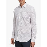 shop for Ted Baker T for Tall Markett Triangle Long Sleeve Shirt at Shopo
