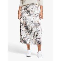 Gestuz Baran Print Skirt, Powder Snake