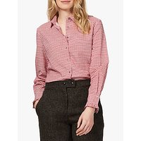 Brora Houndstooth Cotton Shirt