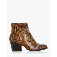 shop for Bertie Poket Leather Block Heel Ankle Boots at Shopo