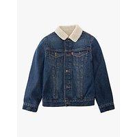 Levis Boys Denim Trucker Jacket, Blue