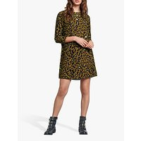 Image of hush Lucie Leopard Print Dress, Neon Leopard