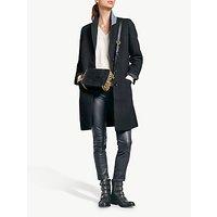 shop for hush Astrid Wool Coat, Black at Shopo