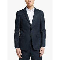 Kin Linen Slim Fit Suit Jacket, Navy