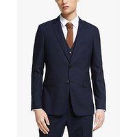 Kin Bengaline Wool Slim Fit Suit Jacket, Navy