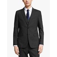 Kin Bengaline Wool Slim Fit Suit Jacket, Charcoal