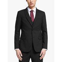 Kin Bengaline Wool Slim Fit Suit Jacket, Black