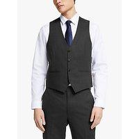 Kin Bengaline Wool Slim Fit Waistcoat, Charcoal