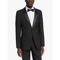 Kin Wool Slim Fit Dress Suit Jacket, Black