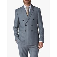 Jaeger Windowpane Check Slim Fit Suit Jacket, Grey