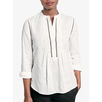 hush Cotton Lace Blouse, White