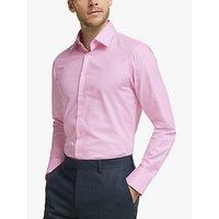 Smyth and Gibson Ermes Cotton Shirt, Melange Pink
