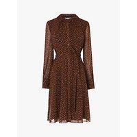 Image of L.K.Bennett Eliza Leopard Print Dress, Multi Leopard