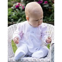 Emile et Rose Skye Sleepsuit, Bolero and Teddy Bear Set,