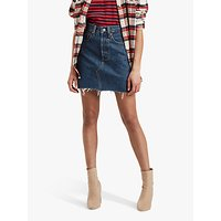 Levis Deconstructed Denim Skirt, Meet In The Middle