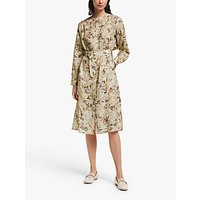 Modern Rarity Archive Floral Print Utility Dress, Pink/Multi