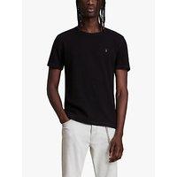 AllSaints Muse T-Shirt, Jet Black