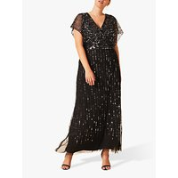 Studio 8 Shante Sequin Maxi Dress, Black