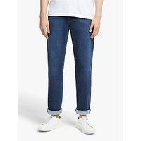 Kin Stretch Denim Slim Jeans, Dark Blue