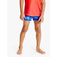 John Lewis & Partners Boys' Swimming Trunks, Pack of 2, Blue