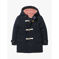 Mini Boden Boys' Duffle Coat, Navy