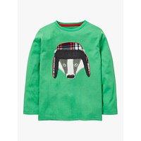 Mini Boden Boys Applique Animal T-Shirt, Green