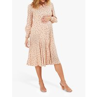Isabella Oliver Juniper Maternity Dress, Light Peach