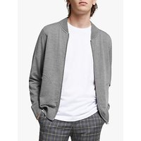 J.Lindeberg Lorie True Merino Cardigan, Light Grey Melange