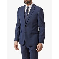 Chester by Chester Barrie Melange Wool Travel Suit Jacket, Navy