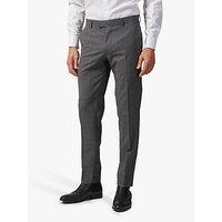 Richard James Mayfair Melange Wool Tailored Suit Trousers, Grey