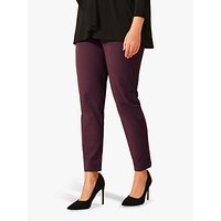 Studio 8 Leah Smart Ankle Grazer Trousers, Port