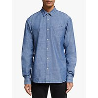 Scotch and Soda Cotton Shirt, Combo Blue