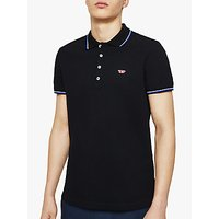 Diesel T-Randy New Polo Shirt, Black