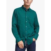 Calvin Klein Brushed Cotton Twill Shirt, Quiet Night