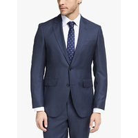 Hackett London Birdseye Slim Fit Suit Jacket, Navy