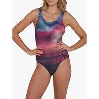 Speedo Digital Placement U-Back Swimsuit, Sunset Vibe