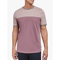 Ted Baker T for Tall Datett Cotton Colour Panel T-Shirt