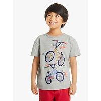 John Lewis & Partners Boys' BMX T-Shirt, Grey